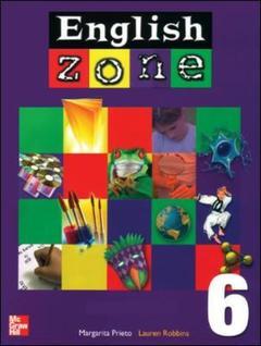 Couverture de l'ouvrage English zone 6 flashcards