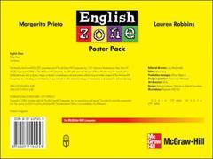 Couverture de l'ouvrage English zone poster pack