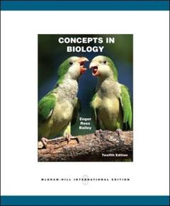 Couverture de l'ouvrage Concepts in biology with aris bind in card (12th ed )