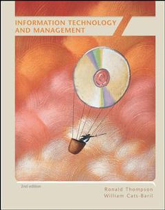 Couverture de l'ouvrage Information technology and management with simnet mis v2 (2nd ed )
