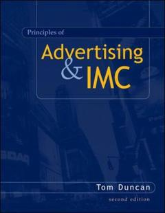 Couverture de l'ouvrage Principles of advertising and imc (2nd ed )