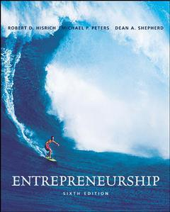 Couverture de l'ouvrage Entrepreneurship with olc and powerweb (6th ed )
