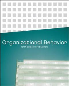 Couverture de l'ouvrage Organizational behavior (10th ed )