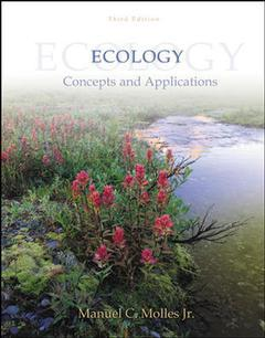 Couverture de l'ouvrage Ecology with olc card (3rd ed )