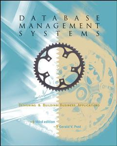 Couverture de l'ouvrage Database management systems: designing and building business applications with student cd-rom (3rd ed )