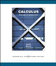 Couverture de l'ouvrage Calculus: concepts and connections with olc bi-card