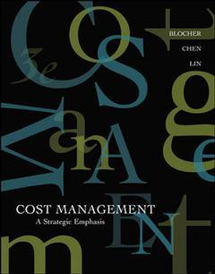 Couverture de l'ouvrage Cost management: a strategic emphasis with olc and powerweb (3rd ed )