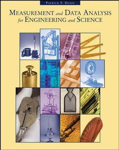 Couverture de l'ouvrage Measurement and data analysis for engineering and science with engineering sub card
