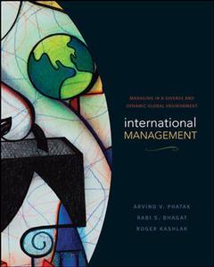 Couverture de l'ouvrage Fundamentals of international management