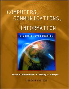 Couverture de l'ouvrage Computers, communications and information: comprehensive with powerweb and interactive companion 3 0 (7th ed )