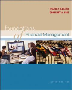 Couverture de l'ouvrage Foundations of financial management with self study cd, standard & poor's market insight and olc with powerweb (11th ed )
