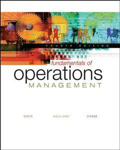 Couverture de l'ouvrage Fundamentals of operations management with student cd-rom and powerweb (4th ed )
