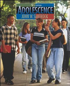 Couverture de l'ouvrage Adolescence with lifemap cd-rom and powerweb (10th ed )