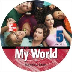 Couverture de l'ouvrage My world audio cd 5