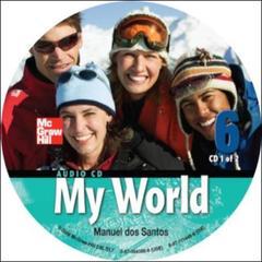 Couverture de l'ouvrage My world audio cd 6