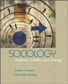 Couverture de l'ouvrage Sociology: diversity, conflict & change