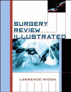 Couverture de l'ouvrage Surgery review illustrated