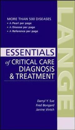 Couverture de l'ouvrage Current essentials of critical care