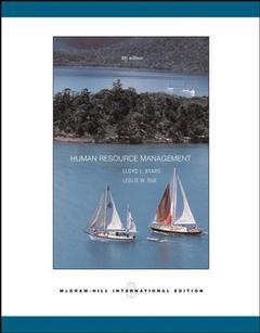 Couverture de l'ouvrage Human resource management (8th ed )