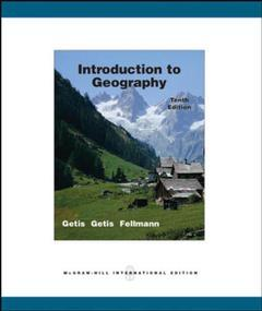 Couverture de l'ouvrage Introduction to geography with olc password card (10th ed )