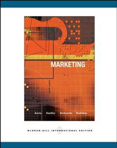 Couverture de l'ouvrage Marketing with cd-rom and powerweb (8th ed )