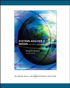 Couverture de l'ouvrage Systems analysis and design: an active approach