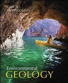Couverture de l'ouvrage Environmental geology with olc password card (7th ed )