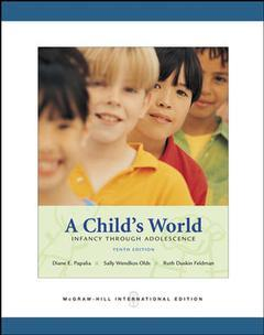 Couverture de l'ouvrage A child's world (10th ed )