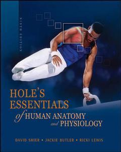 Couverture de l'ouvrage Hole's essentials of human anatomy and physiology with olc bind-in card (9th ed )