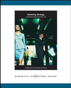 Couverture de l'ouvrage Marketing strategy (5th ed )