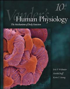 Couverture de l'ouvrage Vander's human physiology ( 10th ed )