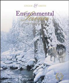 Couverture de l'ouvrage Environmental science with olc password card (10th ed )