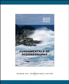 Couverture de l'ouvrage Fundamentals of oceanography with olc password card (5th ed )