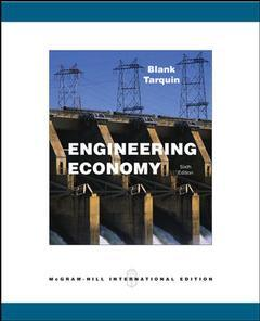 Couverture de l'ouvrage Engineering economy with olc bind-in card and engineering subscription card (6th ed )