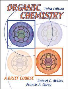 Couverture de l'ouvrage Organic chemistry : a brief course 3/e