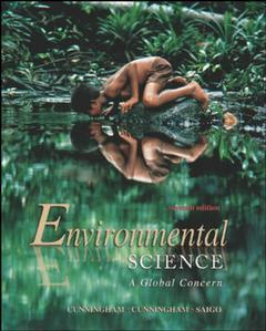 Couverture de l'ouvrage Environmental science : a global concern 7th ed. (International ed.)