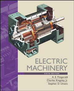 Couverture de l'ouvrage Electric machinery