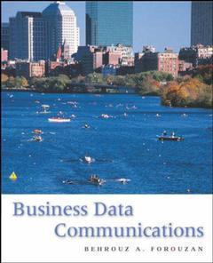 Couverture de l'ouvrage Business data communications