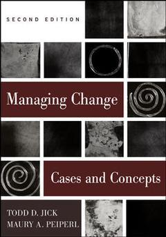 Couverture de l'ouvrage Managing change: text and cases (2nd ed )
