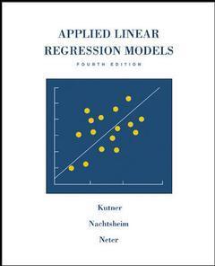 Couverture de l'ouvrage Applied Linear Regression Models