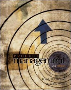 Couverture de l'ouvrage Product management