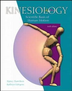 Couverture de l'ouvrage Kinesiology w/ dynamic human 2 0 & powerweb