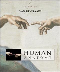 Couverture de l'ouvrage Human anatomy 6/e