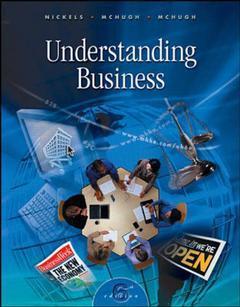 Couverture de l'ouvrage Understanding business