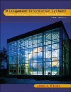 Couverture de l'ouvrage Management information systems, 5/e