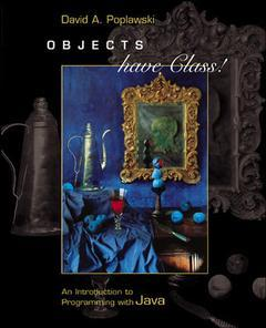 Couverture de l'ouvrage Objects have class!