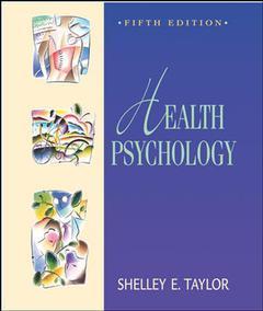 Couverture de l'ouvrage Health psychology with powerweb (5th ed )