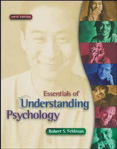 Couverture de l'ouvrage Essentials of understanding psychology with making the grade cd rom (5th ed )