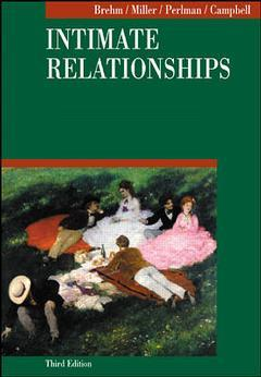 Couverture de l'ouvrage Intimate relationships (3rd ed )
