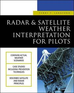 Cover of the book Satellite and radar weather interpretation for pilots
